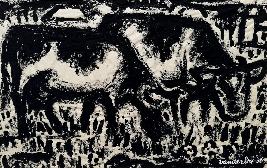 2 Kij – 1956 – plakaatverf